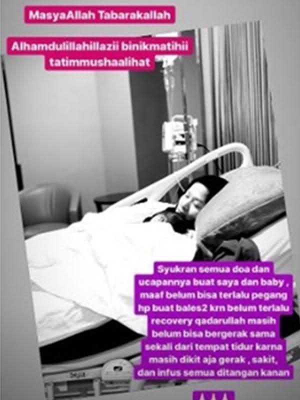 6 Momen Proses Melahirkan Lyra Virna, Penantian Selama 7 Tahun (sumber: Instagram.com/lyravirna)