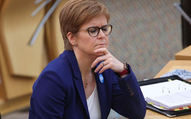 Nicola Sturgeon has relied on the information to justify rules - Fraser Bremner/PA