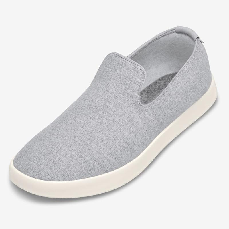 The Wool Lounger in SF Grey.