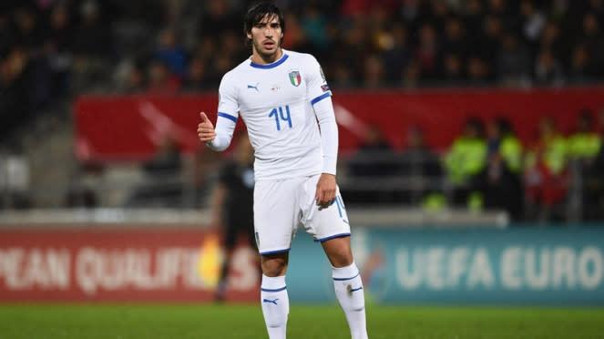 Gelandang Timnas Italia, Sandro Tonali