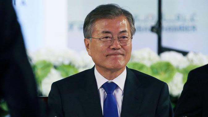 Presiden Korea Selatan Moon Jae-in (AP/Jon Gambrell)