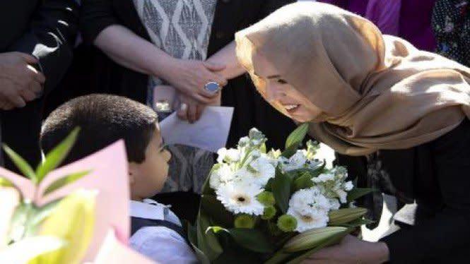 PM Selandia Baru Berhijab Kenang 51 Shuhada Christchurch