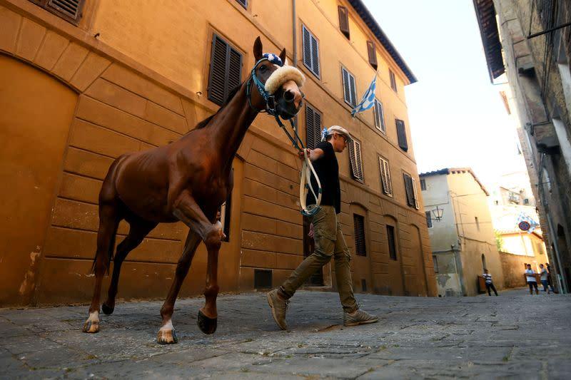 Italy's Palio horse race canceled because of coronavirus