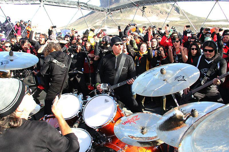 Metallica Becomes First Band to Play All 7 Continents in a Year (Yes, Even Antarctica!)