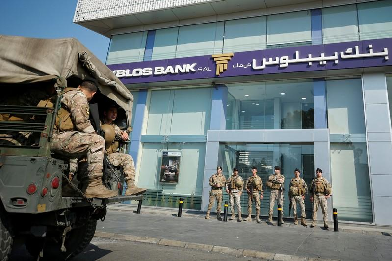'No need to panic': Lebanon banking body tells depositors as protests continue