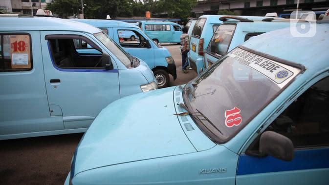 Dishub DKI Sebut Jumlah Penumpang Angkutan Umum Turun hingga 88 Persen