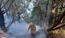 缺水又傳山林火災 玉山八通關延燒5天