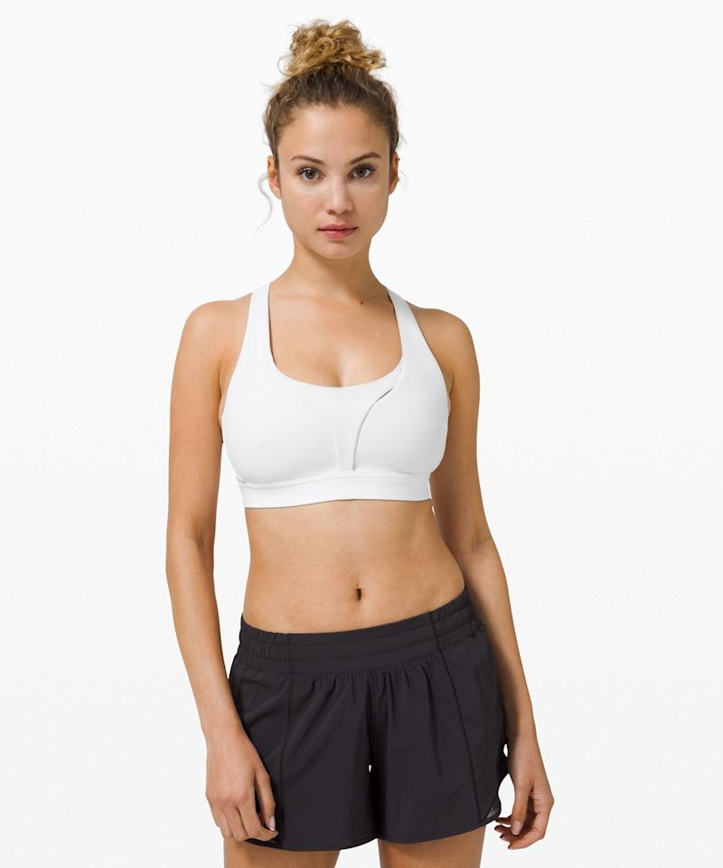 """<p><strong>Lululemon</strong></p><p>lululemon.com</p><p><a href=""""https://go.redirectingat.com?id=74968X1596630&url=https%3A%2F%2Fshop.lululemon.com%2Fp%2Fwomen-sports-bras%2FStash-It-All-Bra-MD%2F_%2Fprod9920165&sref=https%3A%2F%2Fwww.elle.com%2Ffashion%2Fg34013883%2Flululemon-sale-we-made-too-much%2F"""" target=""""_blank"""">Shop Now</a></p><p><strong><del><strong>$</strong>68</del> $39 (48% off)</strong></p><p>Since wearing anything with underwire is totally out of the question, now's the time to buy sports bras in bulk. Lululemon's Stash It All bra is supportive without being constricting. </p>"""