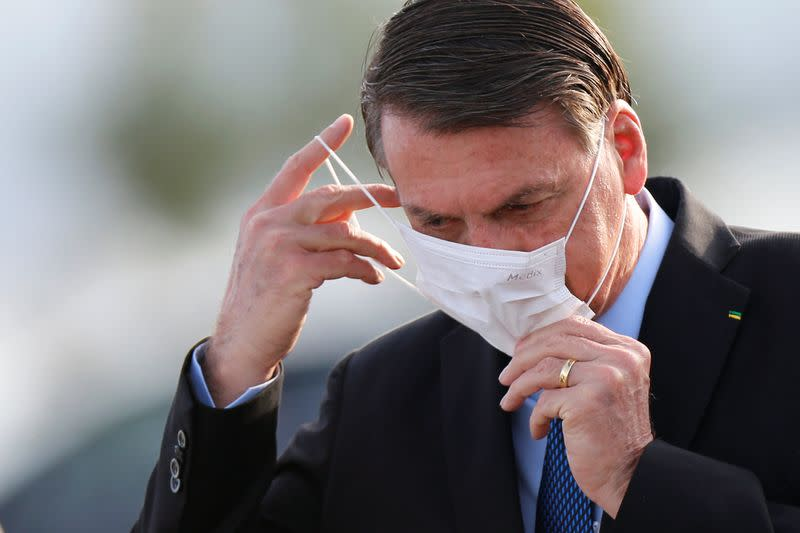 Facing criticism, Brazil's Bolsonaro restores Ministry of Communications