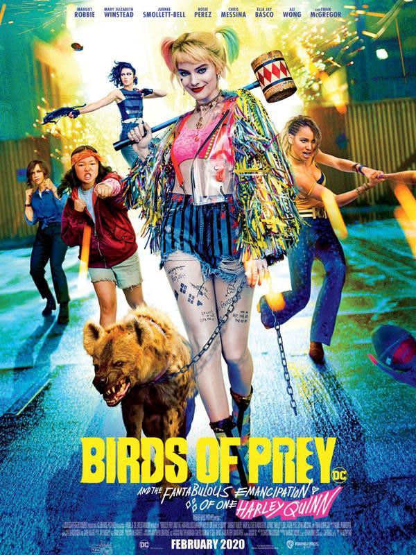 Poster film Birds of Prey. (Foto: Dok. Warner Bros.)