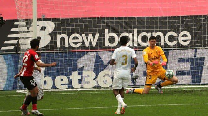 Pertandingan Athletic Bilbao vs Real Madrid