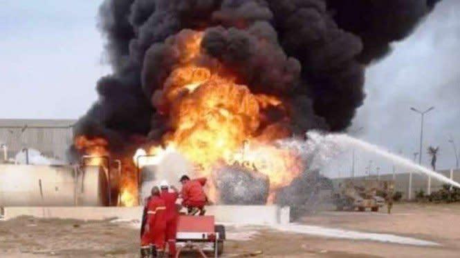 Dalih Singa LNA Usai Luncurkan Ratusan Roket Bombardir Bandara Mitiga