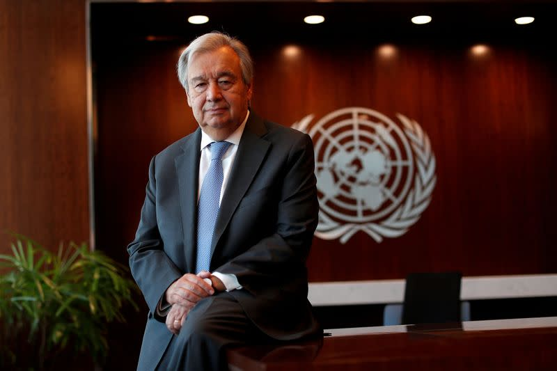Divided world is failing COVID-19 test, says frustrated U.N. chief