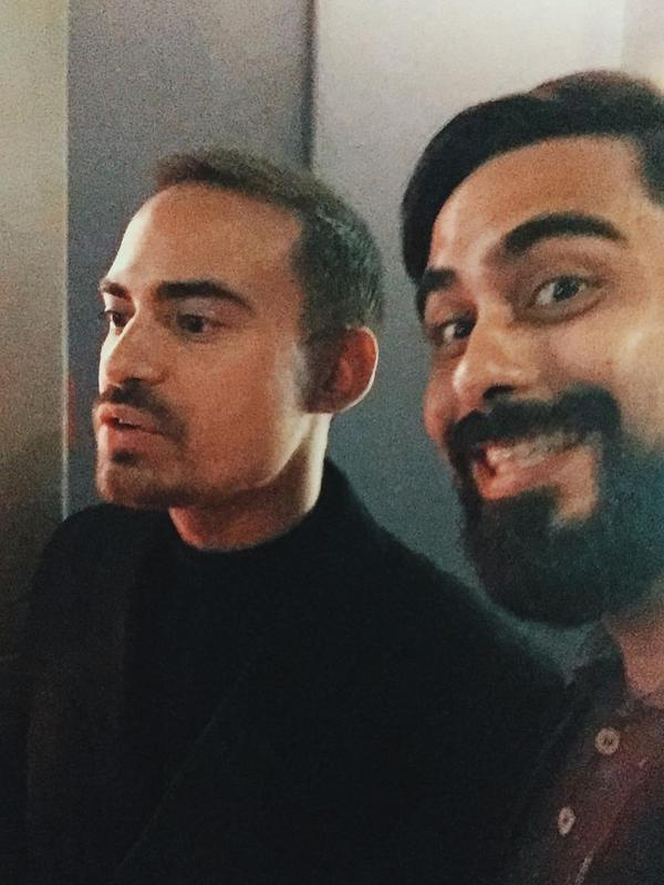 Ashraf Sinclair dan Adam Sinclair. (Instagram @adamyousofunny)