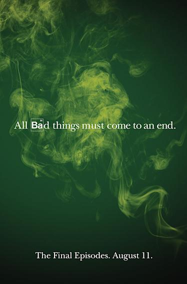"""Breaking Bad"" Teaser Poster"