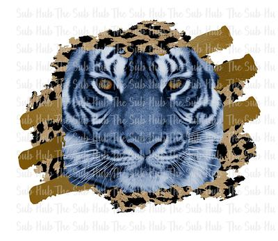 Tigers Leopard Green SUBLIMATION TRANSFER