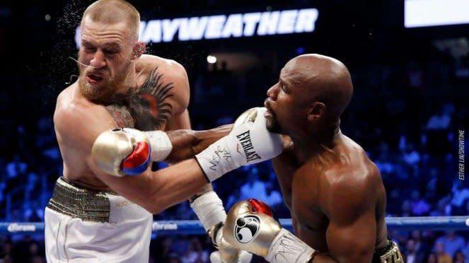 Pertarungan Mayweather vs Conor McGregor 2017 silam