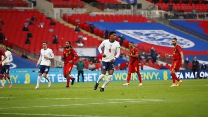 Hasil Nations League: Inggris Tekuk Belgia, Prancis Ditahan Portugal