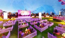 【香港好去處】中環全新戶外電影院 私人花園+手機點餐嘆美食