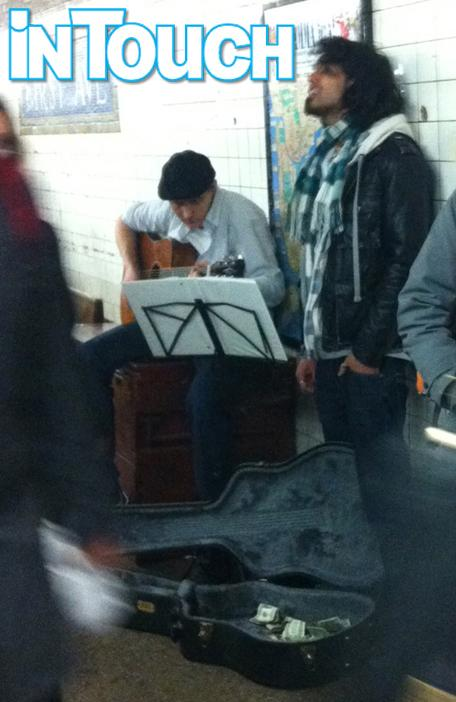 Former 'American Idol' Contestant Sanjaya Malakar Spotted Singing in the Subway [Photo]