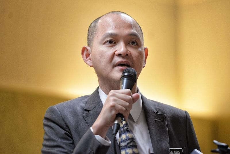 According to DAP's Bangi MP Ong Kian Ming, since it was only tabled in Parliament for the first reading on August 12, the Bill can only be gazetted at the end of September at the earliest. — Picture by Shafwan Zaidon