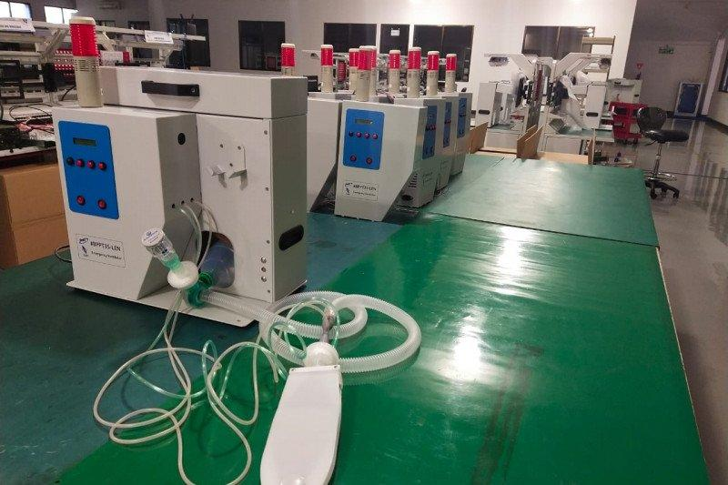 PT Len mulai produksi ventilator