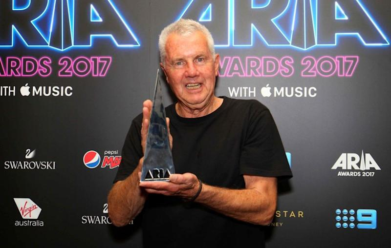 Daryl Braithwaite inducted into the ARIAs Hall of Fame. Source: Getty