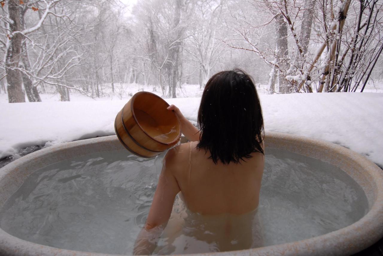 Новым, прикольные картинки из бани в снег
