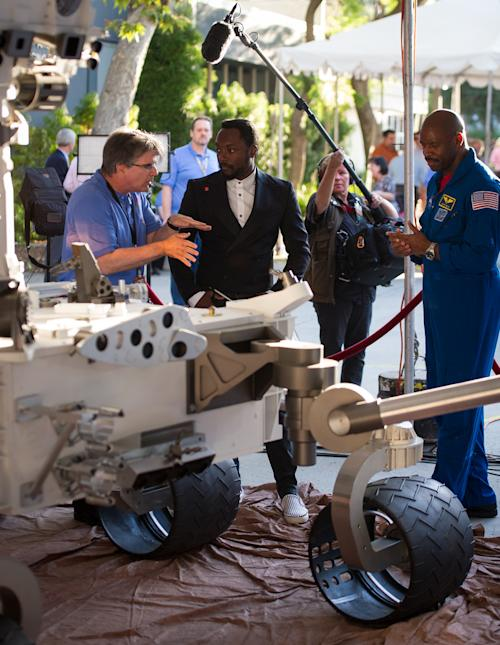 will.i.am Teams With NASA To Premiere 'Reach For The Stars' From Mars