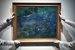 Lelang lukisan langka Gauguin laku 9,5 juta euro