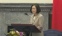 蔡總統接見十大傑青 21歲林薇獲選