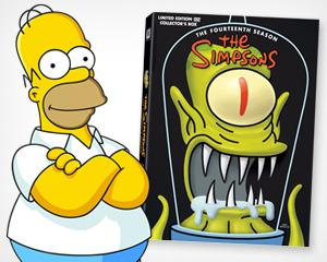 Yahoo! TV Giveaway: 'The Simpsons' Season 14 DVDs
