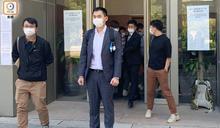 阻礙警長拘黑衣人表證成立 區議員許銳宇保釋12.3裁決