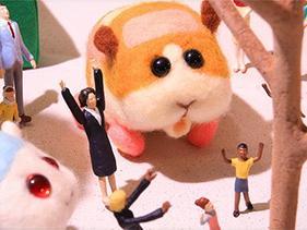 五隻各不相同的可愛天竺鼠(2)