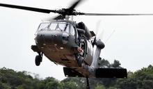 美陸軍黑鷹直升機進行例行訓練失事造成2死3傷 詳細資訊尚未公布