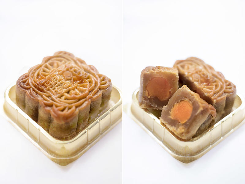 Old fashioned mooncakes are the best for many