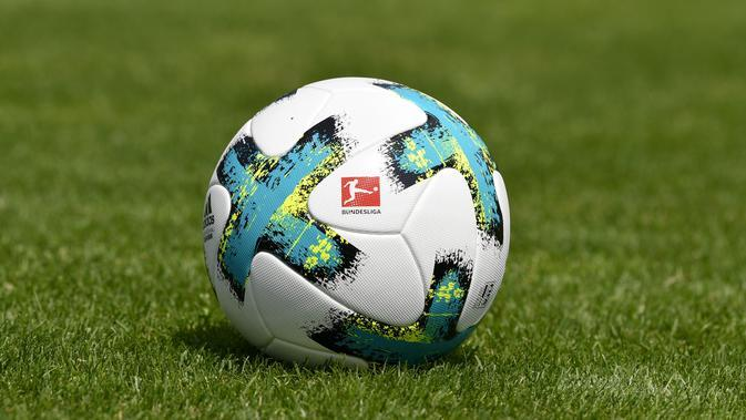 Ilustrasi Logo Bundesliga. (AFP/Thomas Kienzle)