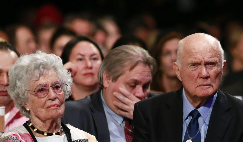 Widow of late John Glenn, first American to orbit Earth, dies at 100 of COVID-19