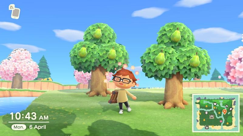 A guide to eating fruit in Animal Crossing: New Horizons