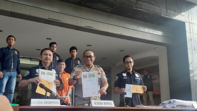 Polisi Ringkus Pemasang Spanduk Ujaran Kebencian di Jakarta Timur