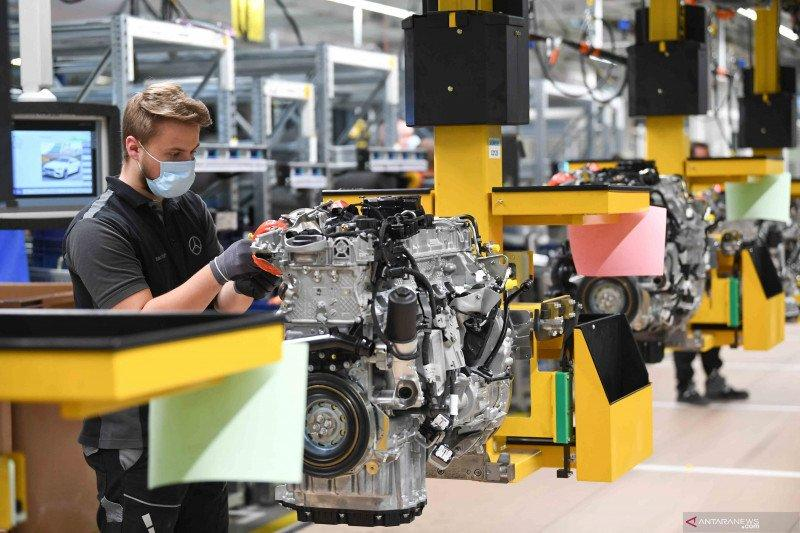 Saham Jerman terkoreksi lagi dengan indeks DAX 30 menyusut 0,04 persen