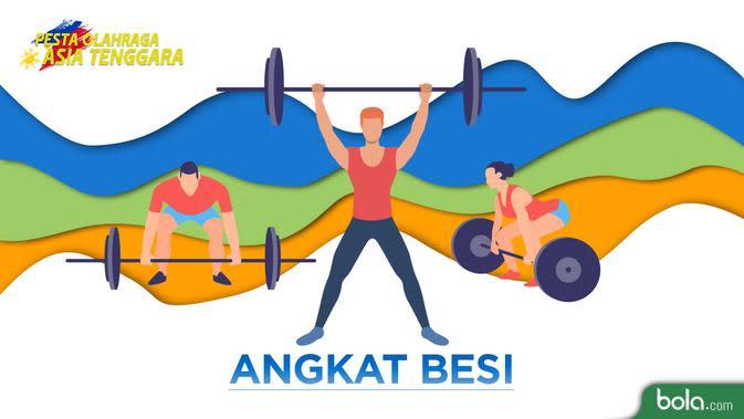 Cabor Angkat Besi Tambah Medali Emas SEA Games 2019