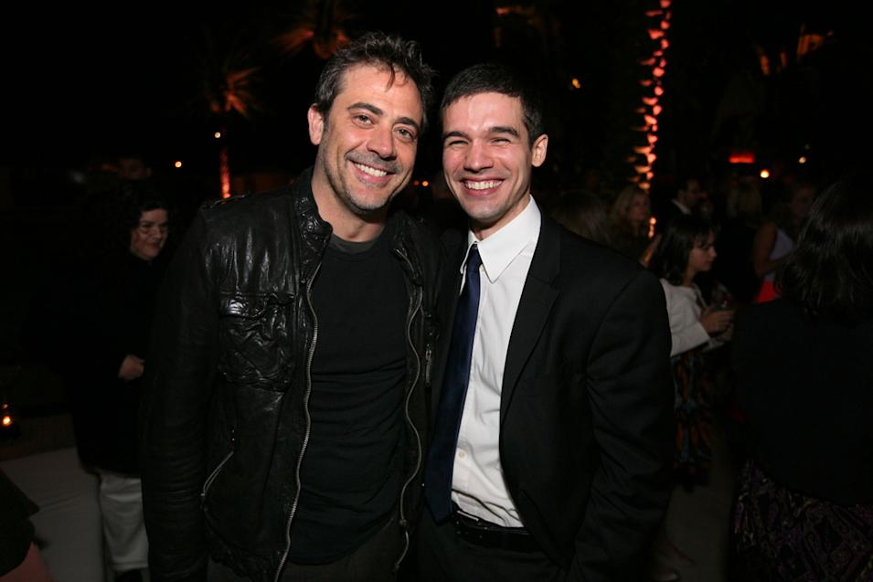 Jeffrey Dean Morgan and Steven Strait