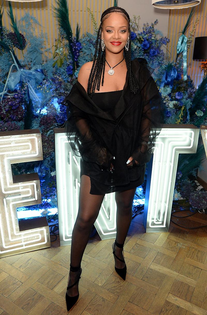 Rihanna objected to the use of Don't Stop The Music (Rex Features)