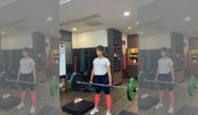 防疫狂健身成果驚艷粉絲 段慧琳遭封「不正常女子」