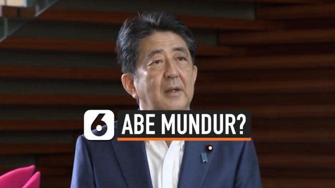 VIDEO: PM Jepang Shinzo Abe Mengundurkan Diri