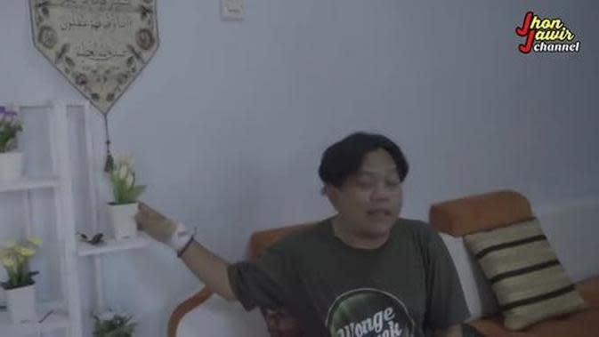 Rumah Jhon Jawir. (Youtube Jhon Jawir via Merdeka.com)