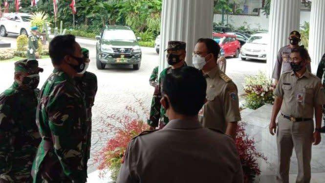 Jenderal Andika Yakin Anies Sudah Tangani Corona di Jakarta Sejak Awal