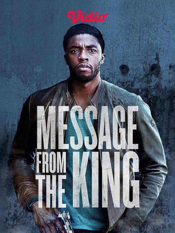 Film Message from the King yang dibintangi Chadwick Boseman.