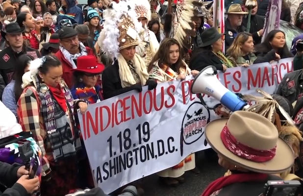 Native Americans Take on Washington Redskins in Trailer for 'Imagining the Indian' Doc (Video)